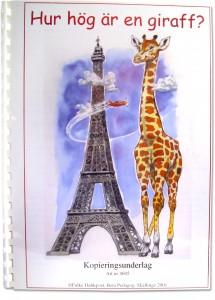Hur hög är en giraff?