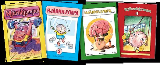 Hjärnhjympa 1, 2, 3 & 4