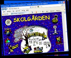Skolgården - Liber